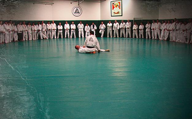 Gracie Academy training